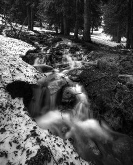 River BW