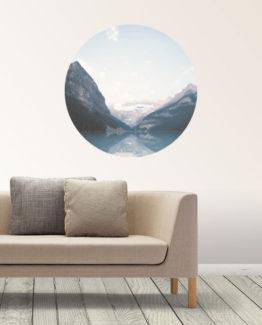 mountain-water-circle-wallpaper